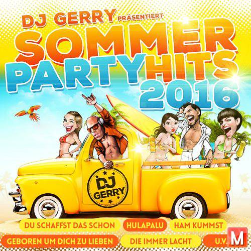 DJ Gerry Prasentiert - Sommer Party Hits (2CD) (2016)